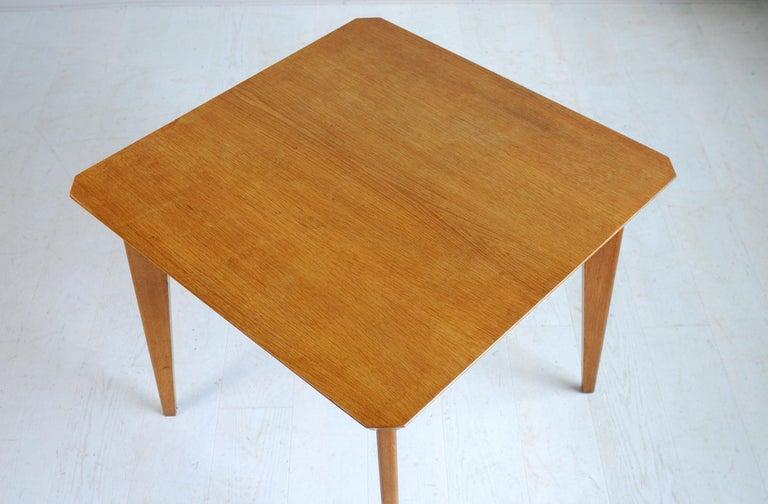 Mid-Century Modern Marcel Gascoin, Convertible Table