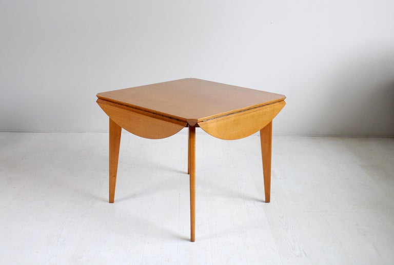 French Marcel Gascoin, Convertible Table