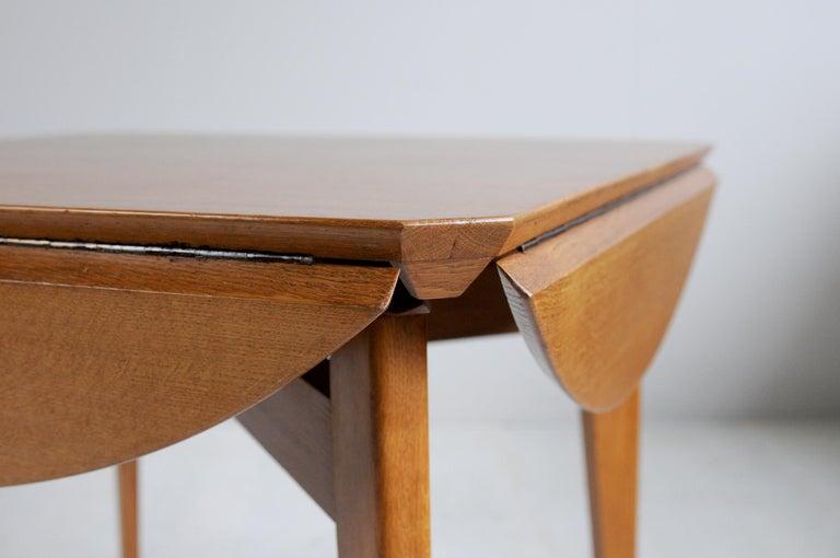 Varnished Marcel Gascoin, Convertible Table