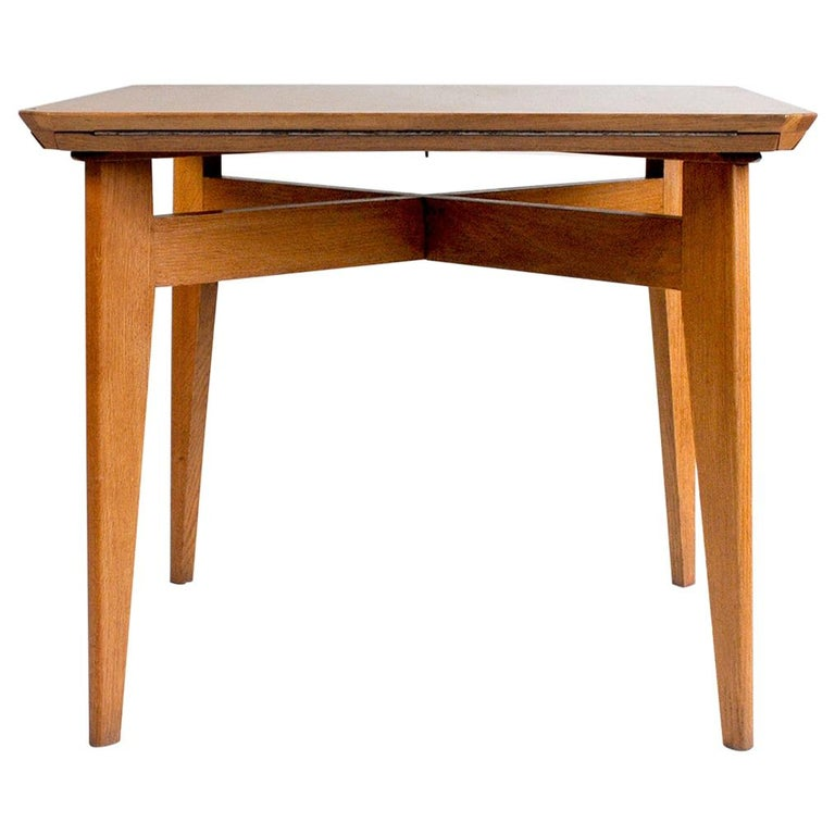 """Marcel Gascoin, Convertible Table """"Marguerite"""", France, 1950 For Sale"""
