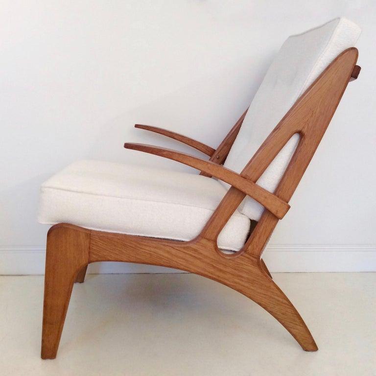 Marcel Louis Baugniet zugeschrieben paar Sessel, um 1950, Belgien 4