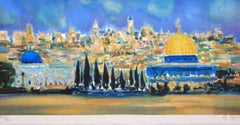 """Jerusalem"" Limited Edition Lithograph (EA 30/30) Pencil-Signed by Artist"