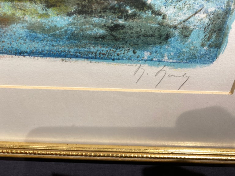 Hand-Signed by the Artist Lower Right Titled Lower Center Inscribed