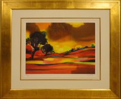 """""""L'Orage"""" Signed, Limited Edition Lithograph with Certificate of Authenticity"""