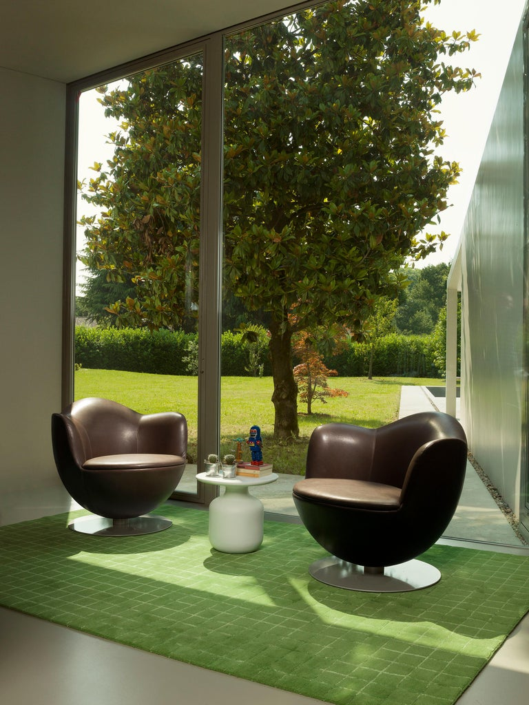 Modern Marcel Wanders Dalia Armchair with Fabric or Leather Upholstery for Cappellini For Sale