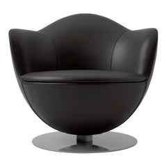 Marcel Wanders Dalia Armchair with Fabric or Leather Upholstery for Cappellini