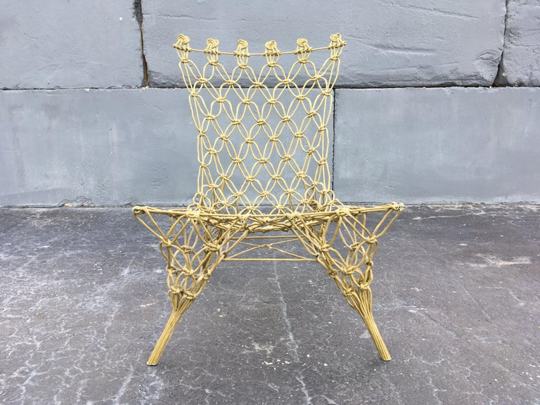 "Marcel Wanders ""Knotted"" Chair 2"