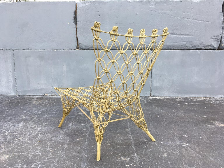 "Marcel Wanders ""Knotted"" Chair 6"