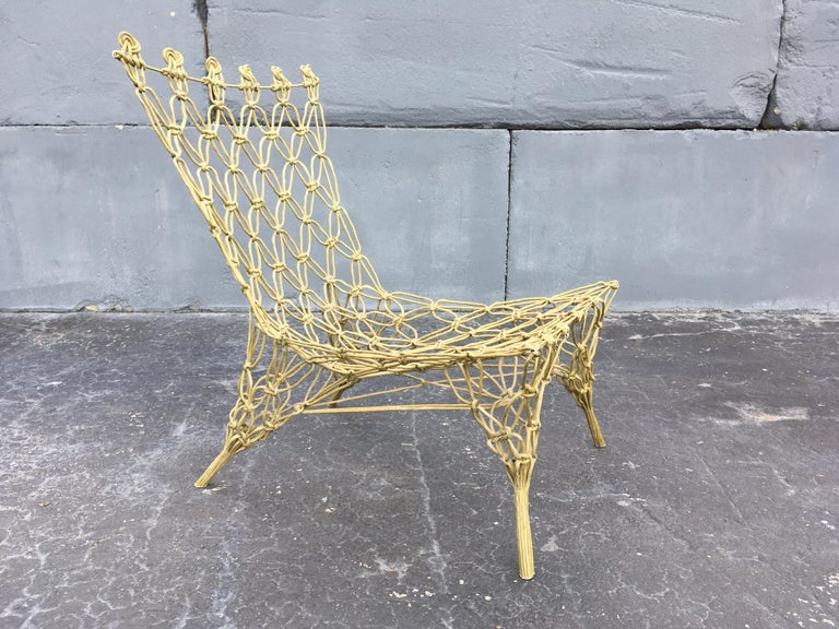 "Marcel Wanders ""Knotted"" Chair 8"