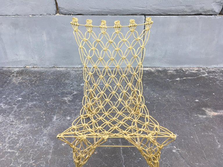 "Marcel Wanders ""Knotted"" Chair 9"
