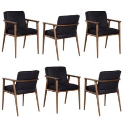 Marcel Wanders Set of 6 Zio Dining Chairs for Moooi, Netherlands