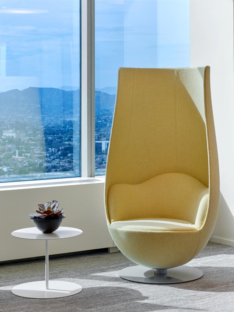 Modern Marcel Wanders Wanders' Tulip Armchair in Fiberglass and Resin Shell, Cappellini For Sale