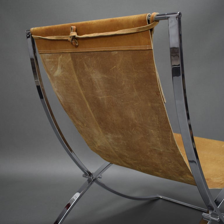 Marcello Cuneo 'Louisa' Lounge Chair, Italy, circa 1970 For Sale 7