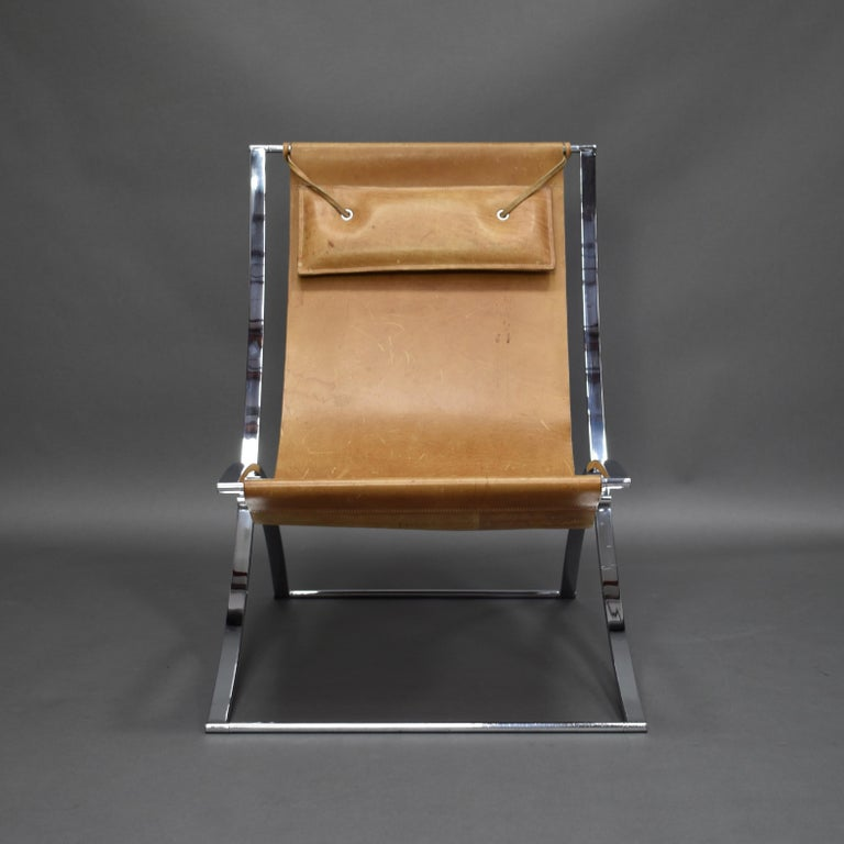 Mid-Century Modern Marcello Cuneo 'Louisa' Lounge Chair, Italy, circa 1970 For Sale