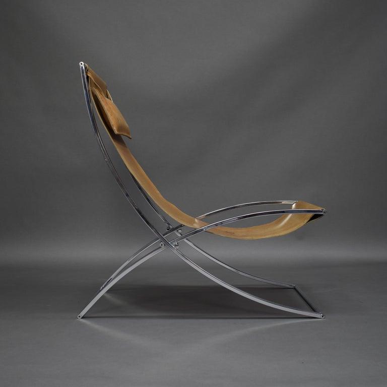 Italian Marcello Cuneo 'Louisa' Lounge Chair, Italy, circa 1970 For Sale