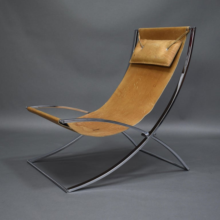 Marcello Cuneo 'Louisa' Lounge Chair, Italy, circa 1970 In Good Condition For Sale In Pijnacker, Zuid-Holland