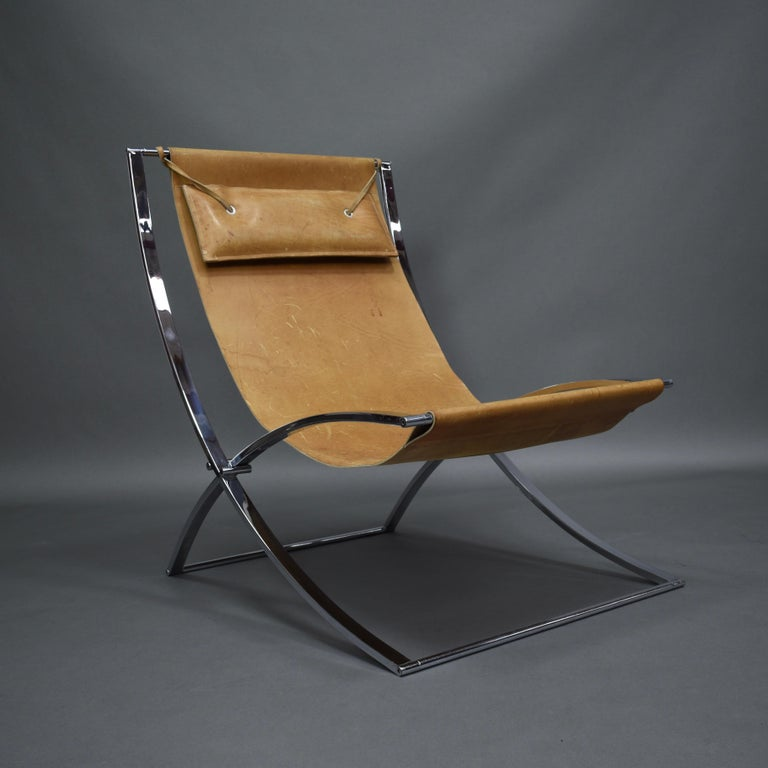 Late 20th Century Marcello Cuneo 'Louisa' Lounge Chair, Italy, circa 1970 For Sale