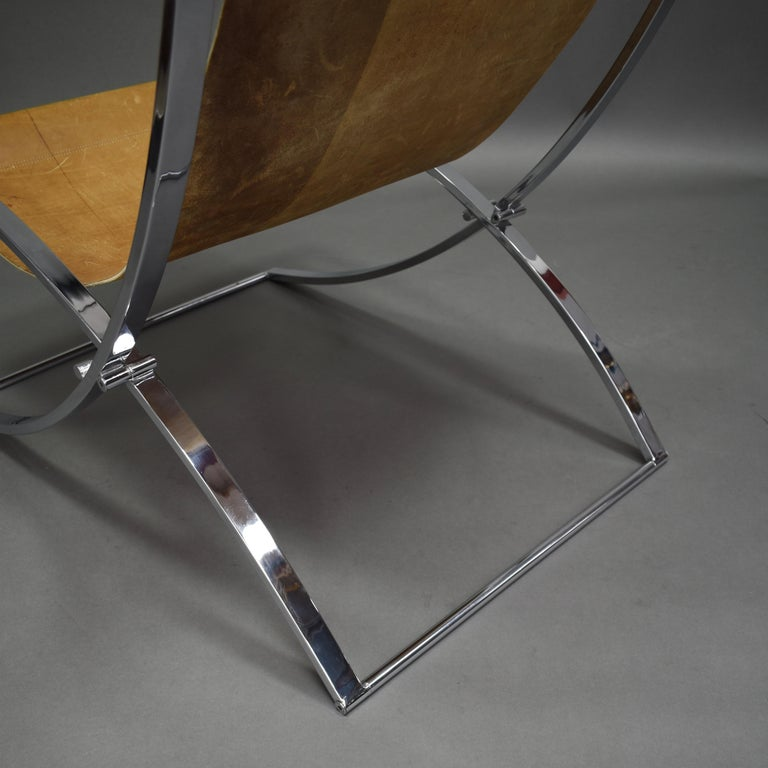 Marcello Cuneo 'Louisa' Lounge Chair, Italy, circa 1970 For Sale 1