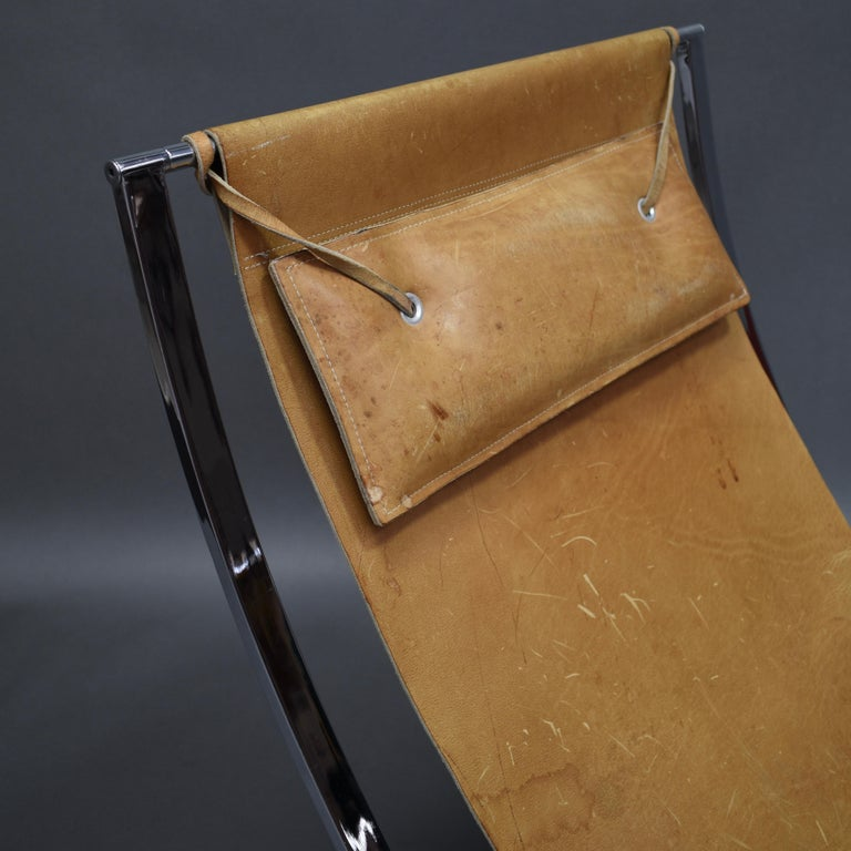 Marcello Cuneo 'Louisa' Lounge Chair, Italy, circa 1970 For Sale 2