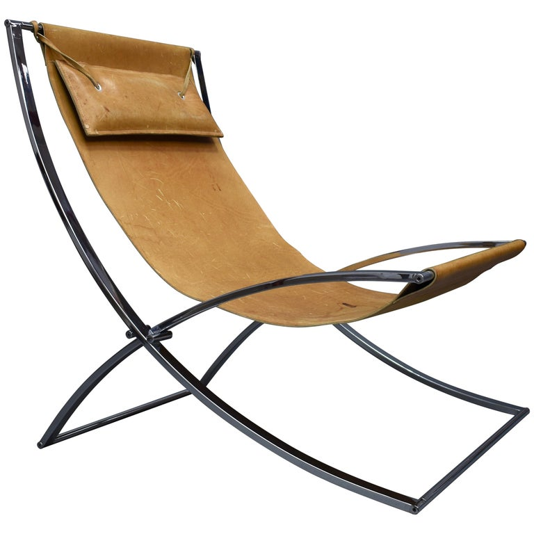 Marcello Cuneo 'Louisa' Lounge Chair, Italy, circa 1970 For Sale