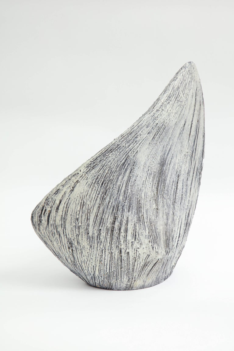 Organic Modern Marcello Fantoni Abstract Ceramic Sculpture, 1962 For Sale