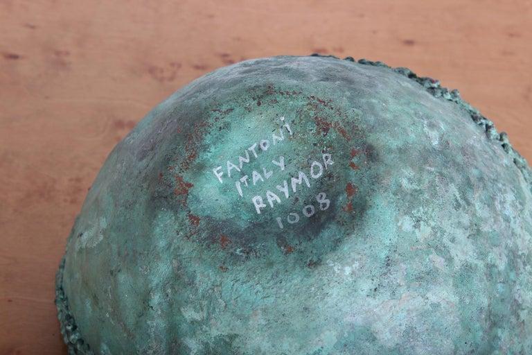 Marcello Fantoni Bronze Bowl For Sale 6