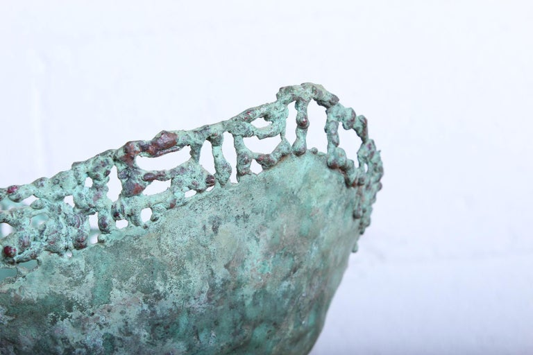 Marcello Fantoni Bronze Bowl For Sale 1