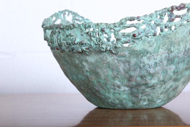Marcello Fantoni Bronze Bowl For Sale 2