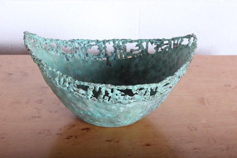 Marcello Fantoni Bronze Bowl For Sale 3