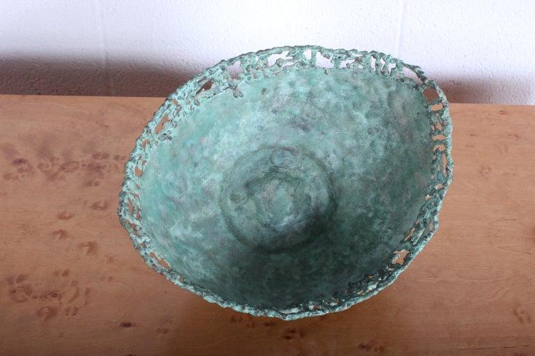Marcello Fantoni Bronze Bowl For Sale 5