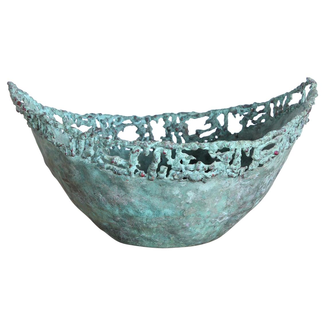 Marcello Fantoni Bronze Bowl
