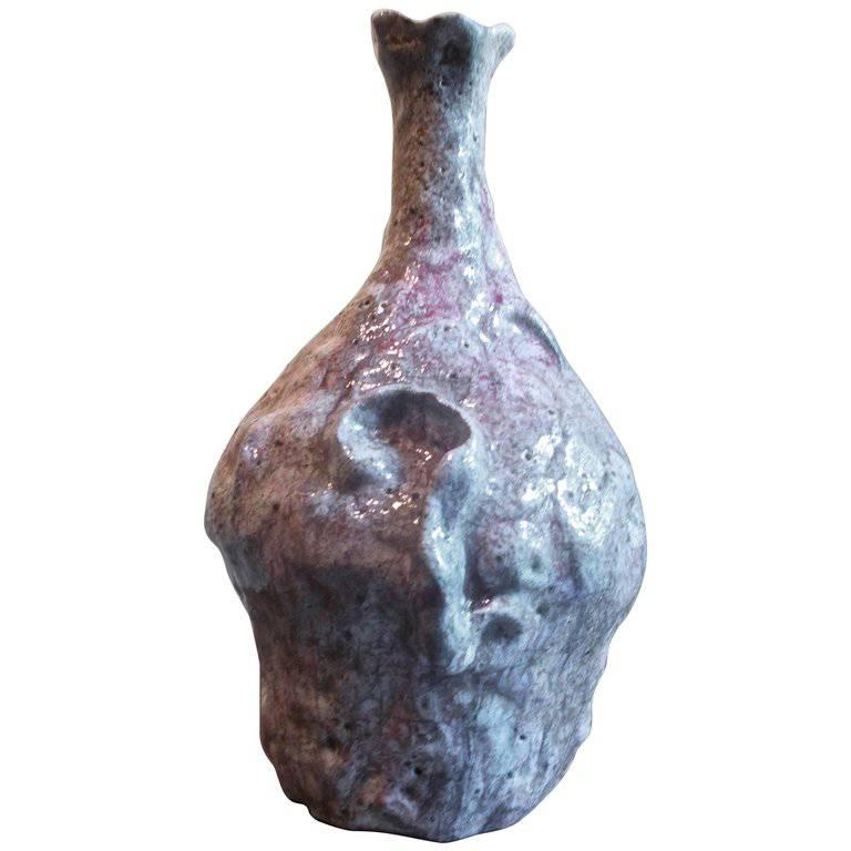 Marcello Fantoni Brutalist Vase