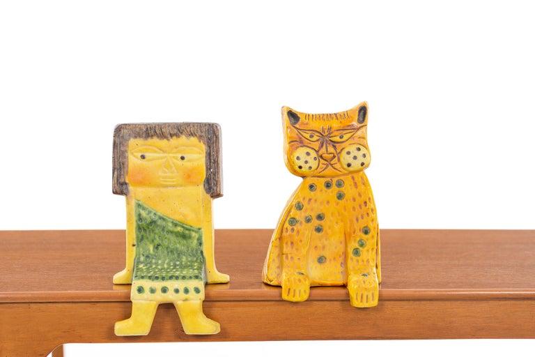 Italian Marcello Fantoni Ceramic Shelf Hanger For Sale