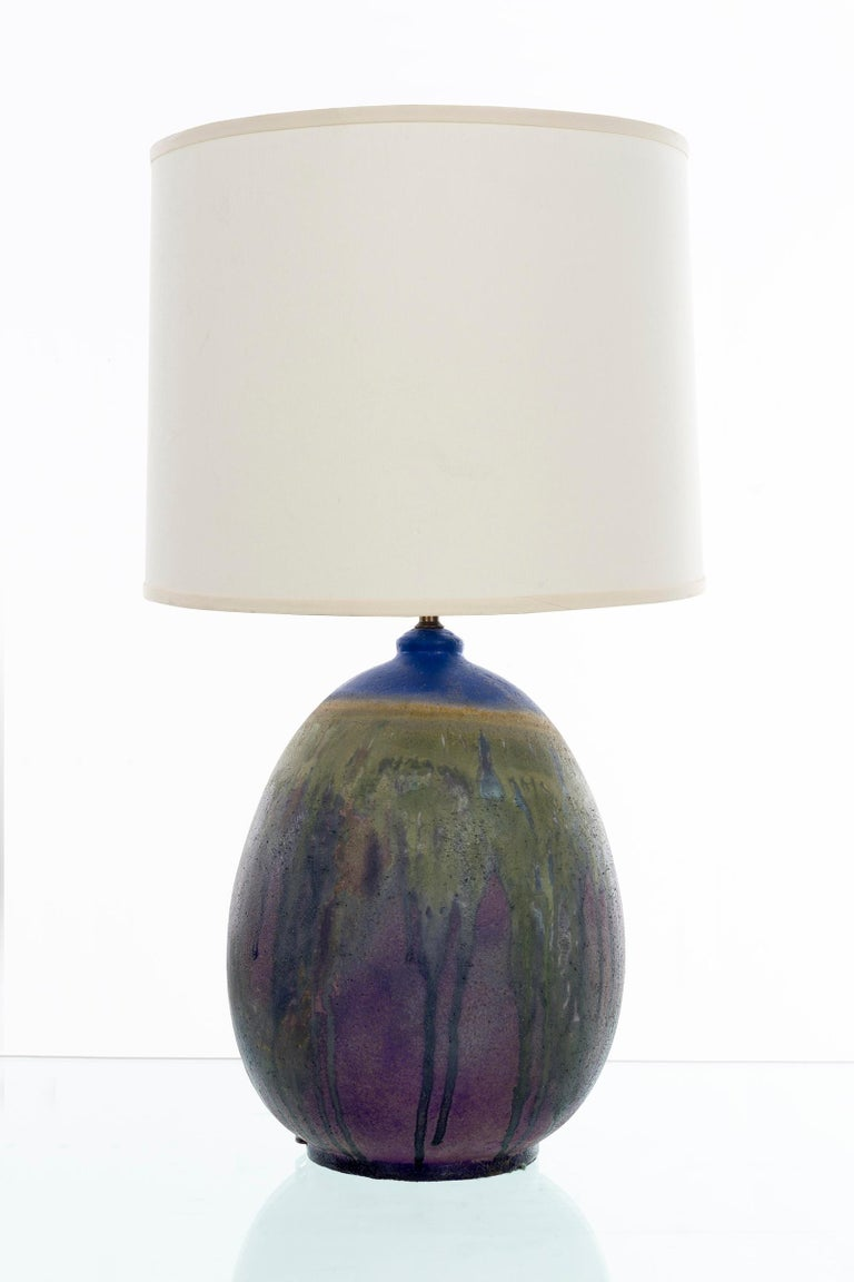 Marcello Fantoni ceramic table lamp.