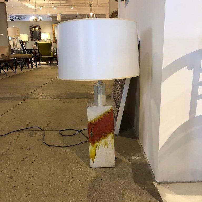 Marcello Fantoni Ceramic Table Lamp For Sale 2