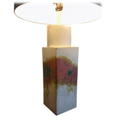 Marcello Fantoni Ceramic Table Lamp