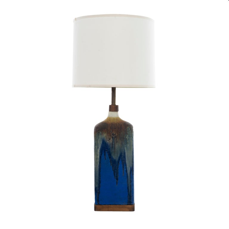 Marcello Fantoni Ceramic Table Lamp For Sale