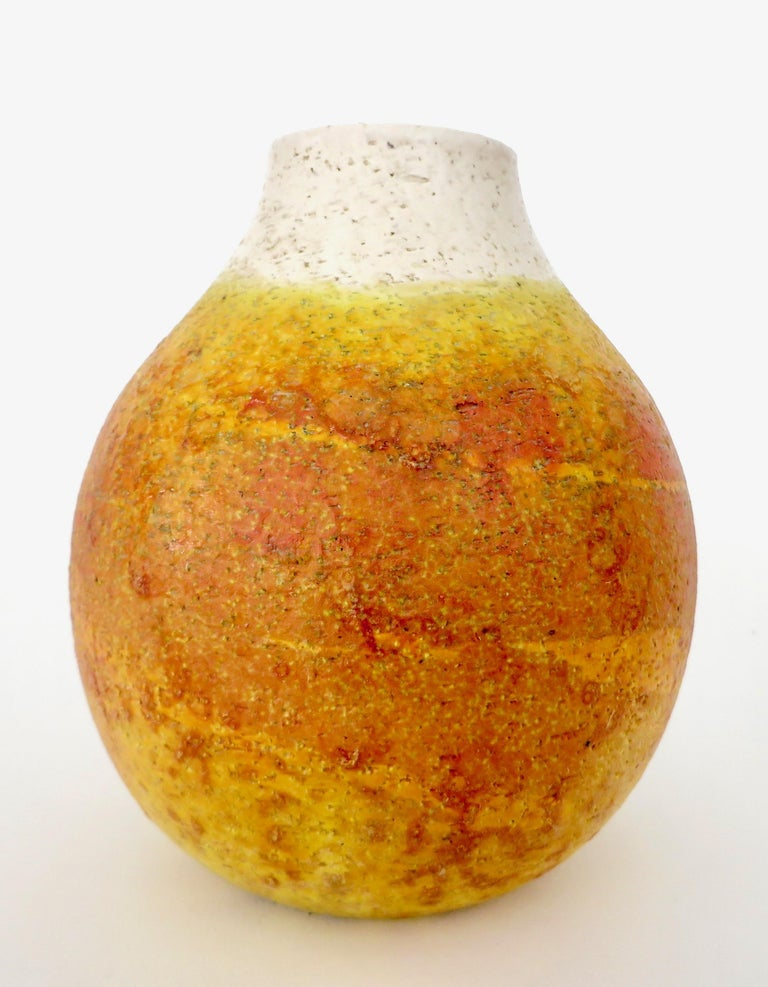 Marcello Fantoni Ceramic Vessel or Vase For Sale 4