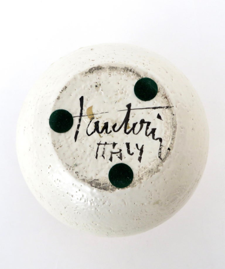 Marcello Fantoni Ceramic Vessel or Vase For Sale 6