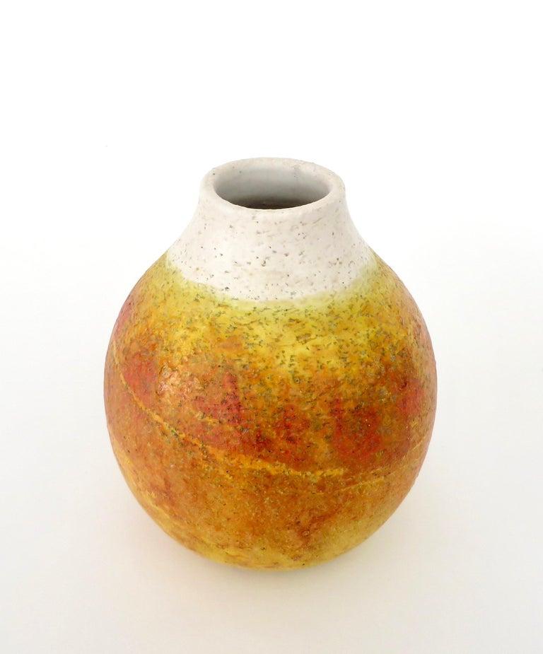 Marcello Fantoni Ceramic Vessel or Vase In Excellent Condition For Sale In Chicago, IL