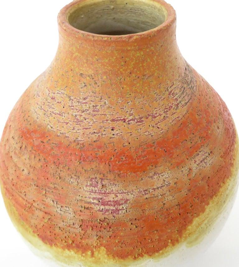 Marcello Fantoni Ceramic Vessel or Vase In Good Condition For Sale In Chicago, IL