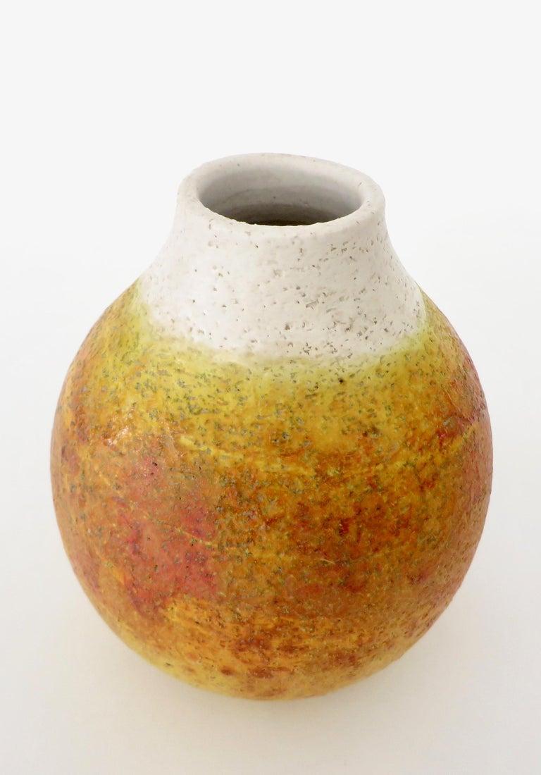 Mid-20th Century Marcello Fantoni Ceramic Vessel or Vase For Sale