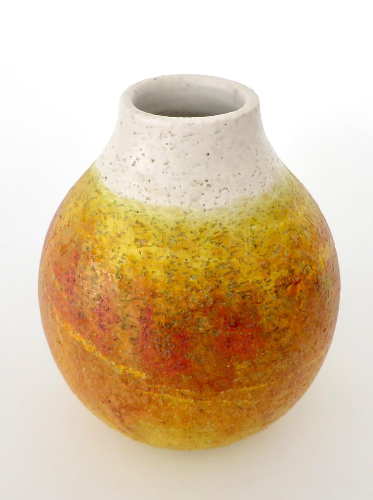Marcello Fantoni Ceramic Vessel or Vase For Sale 1