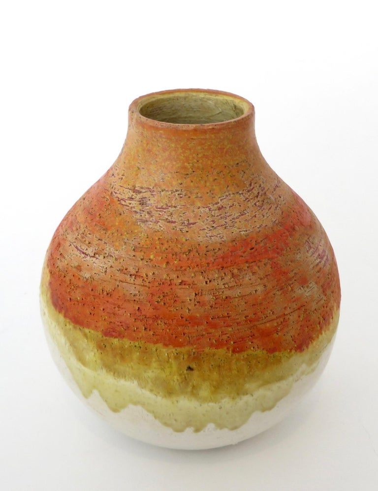 Marcello Fantoni Ceramic Vessel or Vase For Sale 3