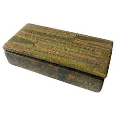 Aldo Londi for Raymor Milano Moderna Abstract Italian Modernist Ceramic Box