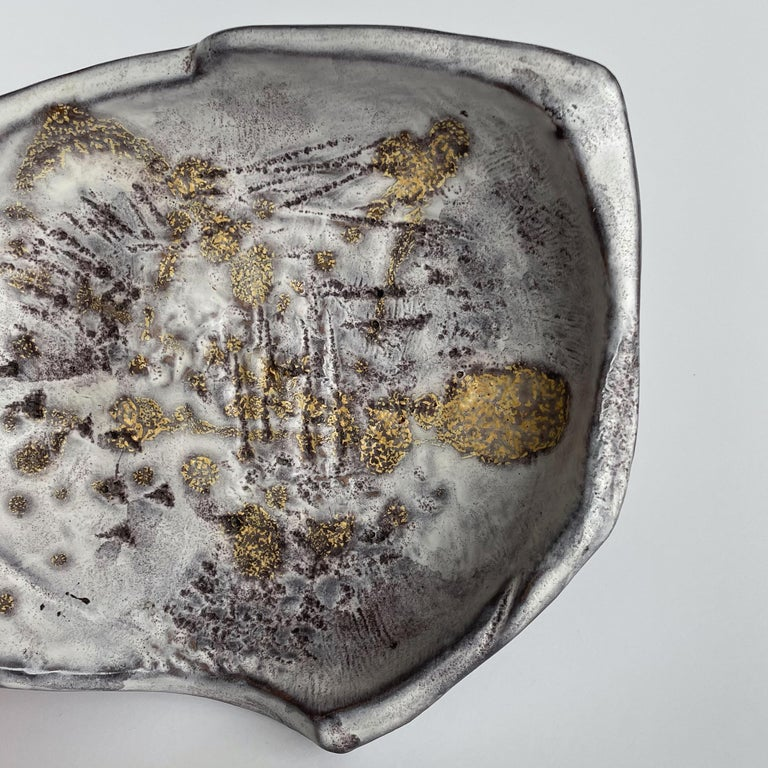 Marcello Fantoni Large Abstract Ceramic Bowl 8