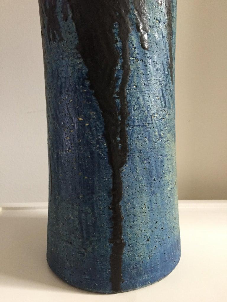 20th Century Marcello Fantoni Monumental Ceramic Vase For Sale