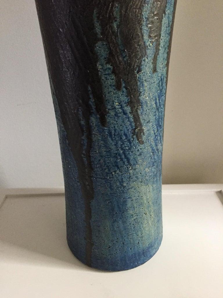 Marcello Fantoni Monumental Ceramic Vase For Sale 1