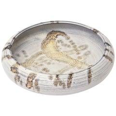 Marcello Fantoni Raymor Ceramic Abstract Bowl or Ashtray