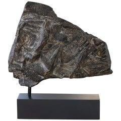 """Marcello Fantoni """"Untitled"""" Hi Fire Ceramic Abstract Sculpture Italy, circa 1970"""